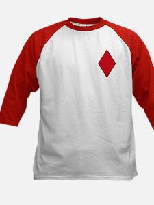 Red Diamonds Kid's Baseball Jersey