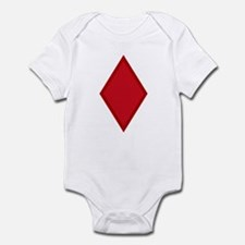Red Diamonds Infant Bodysuit