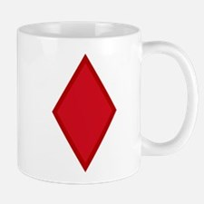 Red Diamonds Mug