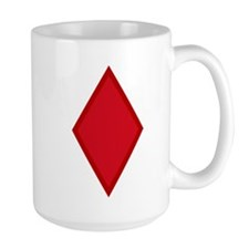 Red Diamonds Mug