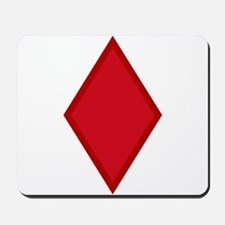 Red Diamonds Mousepad