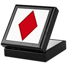 Red Diamonds Keepsake Box