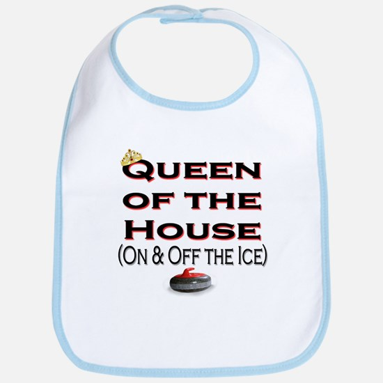 Queen of the House Bib