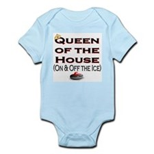 Queen of the House Infant Creeper