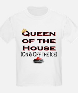 Queen of the House Kids T-Shirt