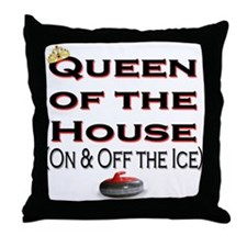 Queen of the House Throw Pillow