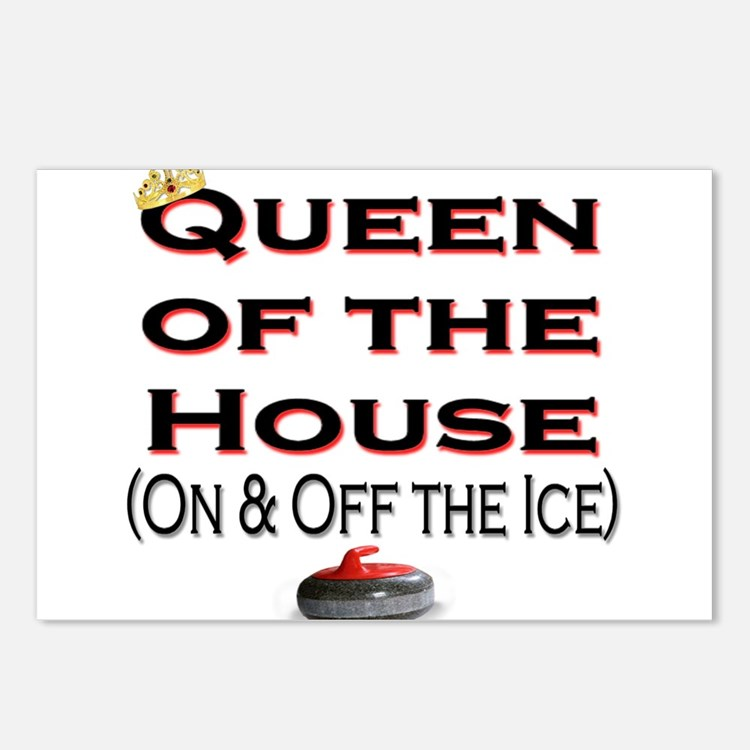 Queen of the House Postcards (Package of 8)