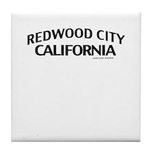 Redwood City Tile Coaster