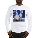 BERGAMASCO SHEEPDOG smiling m Long Sleeve T-Shirt