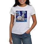 BERGAMASCO SHEEPDOG smiling m Women's T-Shirt