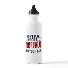 Buffalo Football Water Bottle
