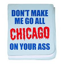 Chicago Baseball baby blanket