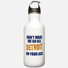 Detroit Baseball Water Bottle