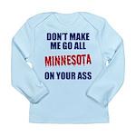 Minnesota Baseball Long Sleeve Infant T-Shirt