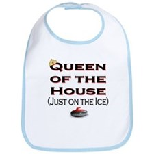 Queen of the House2 Bib