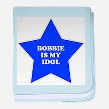 Bobbie Is My Idol baby blanket