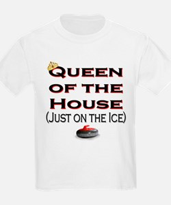 Queen of the House2 Kids T-Shirt