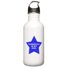 Gabriella Is My Idol Water Bottle