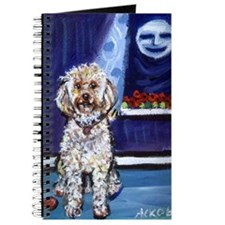 COCKAPOO unique dog art Journal