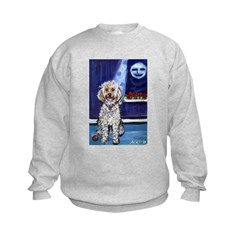 COCKAPOO unique dog art Sweatshirt