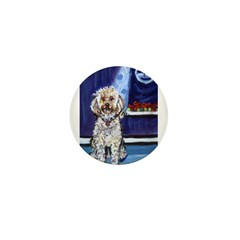 COCKAPOO unique dog art Mini Button (10 pack)