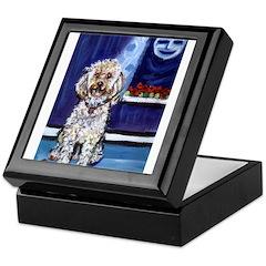 COCKAPOO unique dog art Keepsake Box