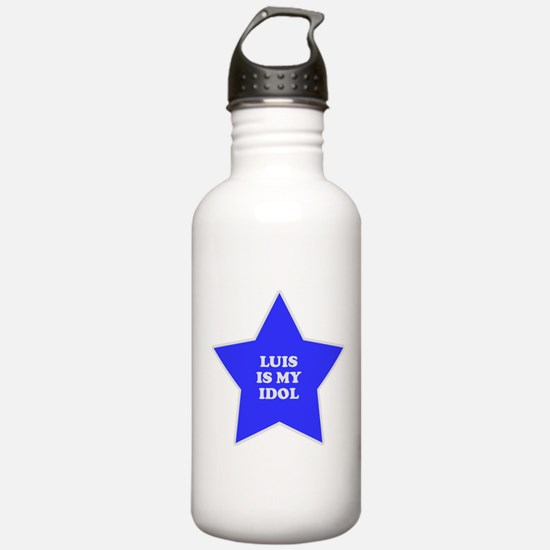 Luis Is My Idol Water Bottle