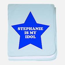 Stephanie Is My Idol baby blanket