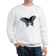 Black Swallowtail butterfly Sweatshirt