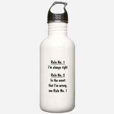 The Rules Water Bottle