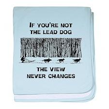 Lead Dog baby blanket