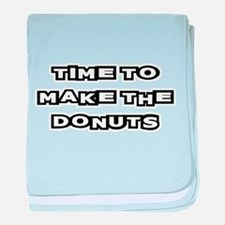 Make The Donuts baby blanket