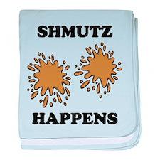 Shmutz Happens baby blanket