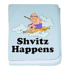 Shvitz Happens baby blanket