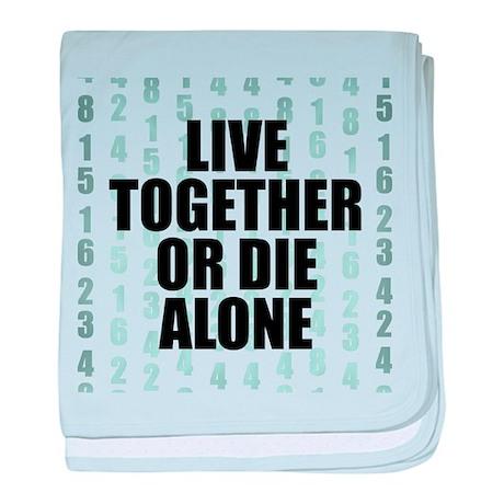 LOST Live Together baby blanket
