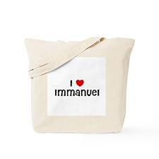 I * Immanuel Tote Bag