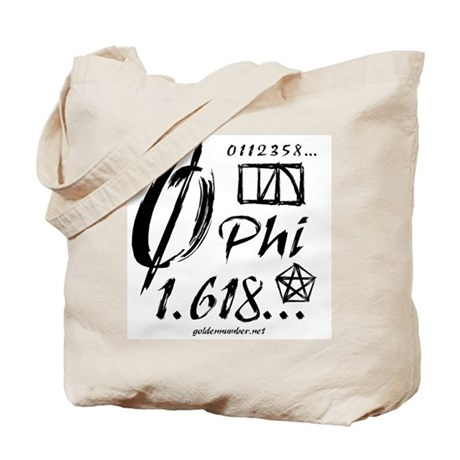 Phi Collage Tote Bag