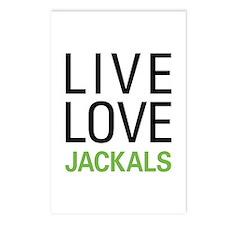 Live Love Jackals Postcards (Package of 8)