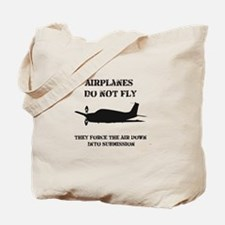 Airplane Submission Tote Bag
