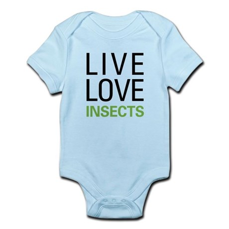 Live Love Insects Infant Bodysuit