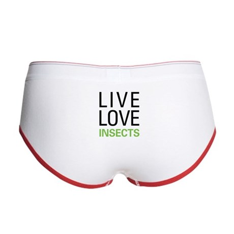 Live Love Insects Women's Boy Brief
