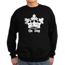 Medieval King Black Crown Sweatshirt