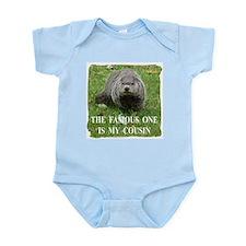 Cousin of Famous Groundhog Infant Bodysuit