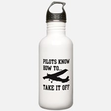 Pilots Know How To Take It Off Water Bottle