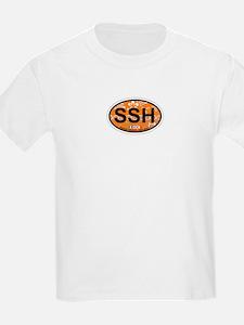Seaside Park NJ - Oval Design T-Shirt