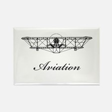 Classic Aviation Rectangle Magnet