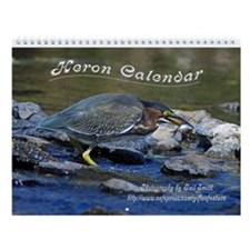 Heron Wall Calendar