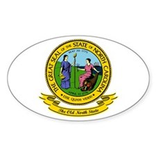 North Carolina Seal Decal