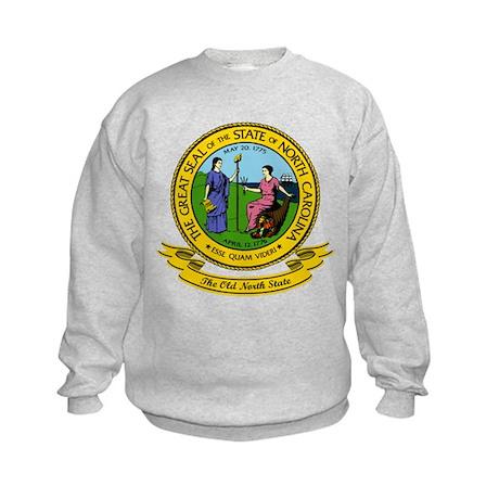 North Carolina Seal Kids Sweatshirt