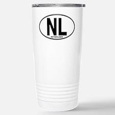 Netherlands Euro Oval (plain) Travel Mug